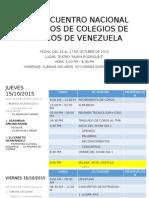 XXIII Encuentro Nacional de Coros de Colegios Medicos 2015