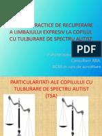 Exercitii Practice de Recuperare a Limbajului Expresiv La Copilul Cu Tsa (1)