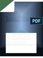 Régimen Económico de China