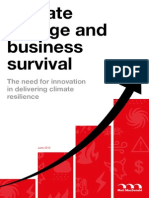 Climate Change and Business Survival