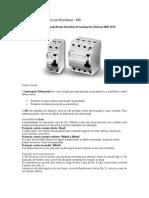 Interruptor Diferencial Residual