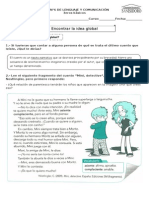 Guía n°6 Lenguaje 3eros Idea global