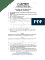 KUHPidana, Buku I, Pasal 1-103