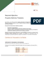 Resumen Proyecto Reforma Tributaria