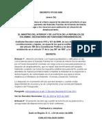 Decreto 170 de 2008
