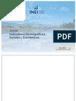JUNIN - Boletin de Indicadores Demograficos, Sociales y Economicos_JUNÍN