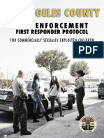 Los Angeles County Law Enforcement First Responder Protocol for CSEC