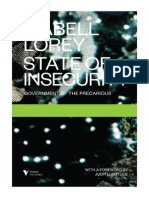 Isabell Lorey State of Insecurity Government of the Precarious 1 1