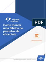 Como Montar Uma Fabrica de Produtos de Chocolate