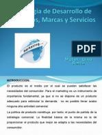 Estrategia de Desarrollo de Producto, Marca y Servicios