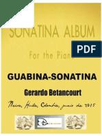 GUABINA SONATINA. Gerardo Betancourt.