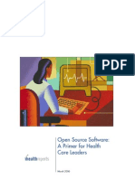 Open Source Primer for Healthcare Leaders