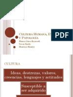 Cultura Humana, Evolucion y Patología