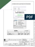 VP 18 101 c 231 001ab p 001 Unit Control System Factory Acceptance Test Procedure