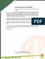 Declaración Mesa Directiva