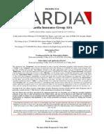 Vardia - Final Prospectus - 150507