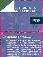 3.2 Estructura Organizacional Unidad III