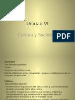 Unidad VI y VII sociologia
