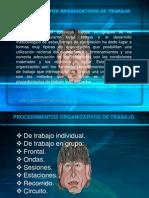 Procedimientos Organizativos de Trabajo