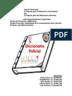 Diccionario Ambiente #3 PNF Policial Guery Parra