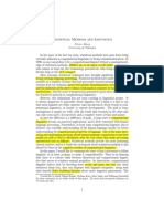 ABNEY 1996 Statistical Methods and Linguistics