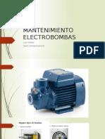 MANTENIMIENTO ELECTROBOMBAS