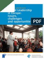 FINAL ETUCE School Leadership Survey