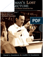 Feynman's Lost Lecture. Motion of Planets Around the Sun