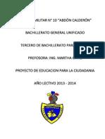 Ciudadanía Proyecto