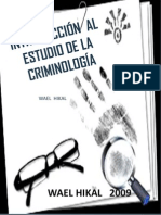 Introduccion Al Estudio de La Criminologia. Listo