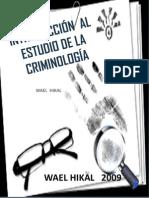 Introduccion Al Estudio de La Criminologia. Listo