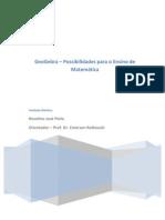 Geogebra- possibilidade para o ensino da matemática