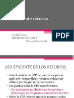 CLASENo.2Microeconomía-Usoeficienterecursos