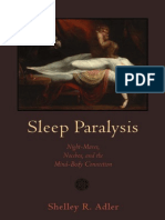 (Studies in Medical Anthropology) Shelley R. Adler-Sleep Paralysis_ Night-mares, Nocebos, And the Mind-Body Connection-Rutgers University Press (2011)