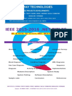 2016 Ieee .Net Cloud Comuting Project Titles