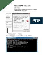 Configuracion AP D-Link 3200