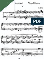 Rachmaninoff - 13 Preludes, Op 32.