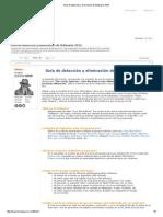 Guía de Detección y Eliminación de Malwares 2015
