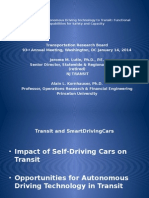 TRB'14 ApplicationAutonomousDrivingTechnologytoTransit LutinKornhauser