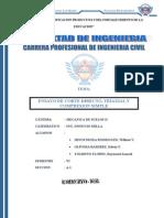 Trabajo de Investigacion Mecanica de Suelos II