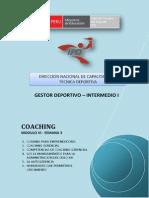 Coaching -