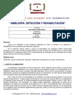 ambliopia caso clinico