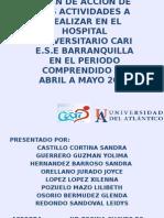 Resultados de Las Actividades Ejecutadas en El Hospital (1)