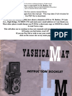 Yashica Mat Lm manual