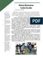Boletim Informativo Maio 2015