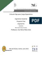 Ergonomía Proyecto Final