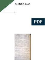 Plan 1939 (Quinto Año)