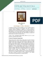 Astrologia y Libre Albedrio