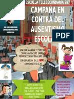 """Cartel Del Protocolo """"Abandono Escolar"""""""