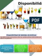 Disponibilidad de Alcohol
